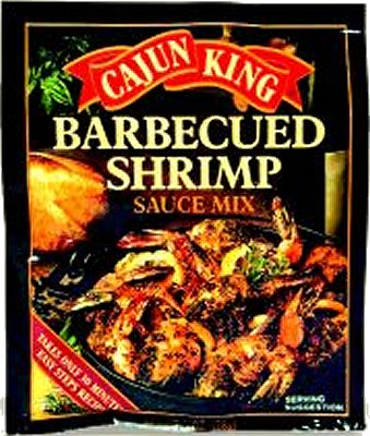 Cajun King BBQ Shrimp Sauce Mix 1 oz Bbq Shrimp