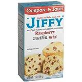 Jiffy Raspberry Muffin Mix 7 oz by Jiffy