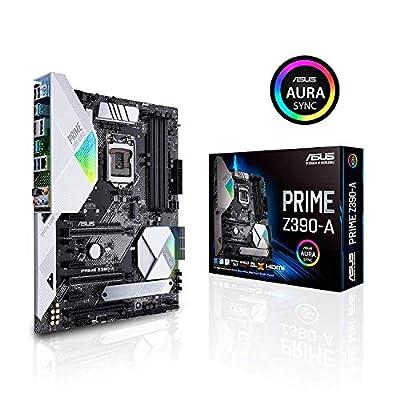 ASUS Prime Z390-A Motherboard LGA1151 (Intel 8th and 9th Gen) ATX DDR4 DP HDMI M.2 USB 3.1 Gen2 Gigabit LAN