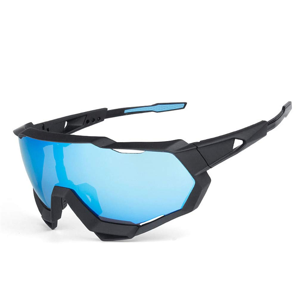 YFFS Big Blue Mirror Slice of Uv Protection Movement May Be Substituted Cycling Glasses Goggles to Protect Fishing Camping in The Wild
