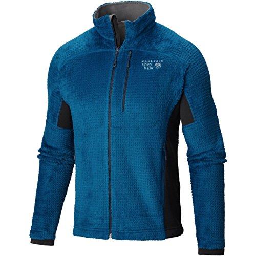 Mountain Hardwear Men's Monkey Man Grid II Jacket, Phoenix Blue, Shark, L