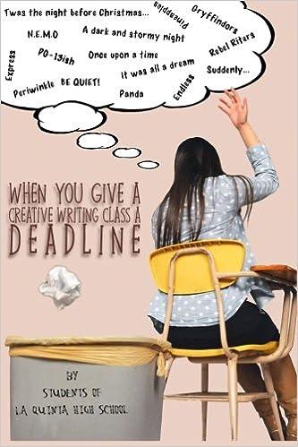 creative writing class high school