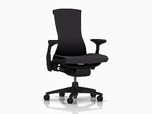 Herman Miller CN122AWAAG1G1BB3512 Embody Chair Carbon Balance