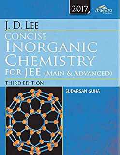 Amazon In Buy Wiley S J D Lee Concise Inorganic Chemistry For Jee