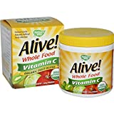 Natures Way Alive Organic Vitamin C Powder, 120 Gram – 3 per case.