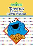 Sesame Street Counting with Cookie Monster Tattoos, Sesame Street Staff, 0486330222