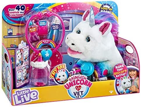 Little Live Rainglow Unicorn Vet product image