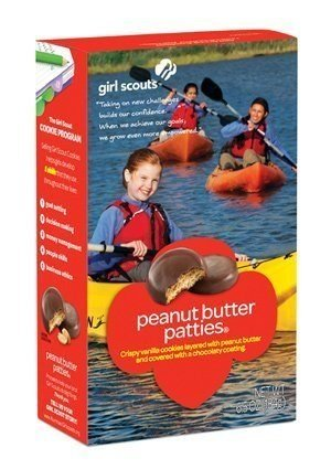 Girl Scouts Cookies 1 case (12boxes) (Peanut Butter Patties) by Girl Scouts