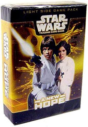 Star Wars TCG New Sealed,Booster Card Packs. Attack Of The Clones 10 Packs