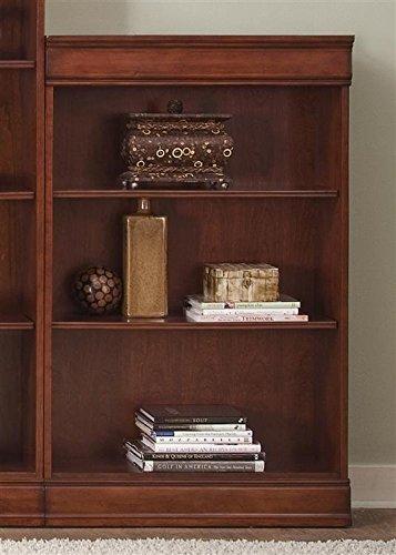 Footboard Nightstand Set (Liberty Furniture 101-HO3048-RTA Louis Jr Executive Bookcase, 30