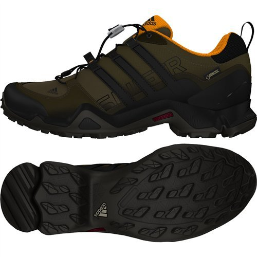 Adidas Terrex Swift R Gtx W Branch / Black / Umber Women's  Hiking Shoes - 8.5 D(M) US
