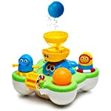 Pallenium Baby Bath Toys for Girls and Boys - Bathtime Toys and Pool Toys for Toddlers - Baby Bathtub Toys - Tub Toys for Babies - Cool Water Toys - Sprinkler for Kids - 1 Year Old Toys (Main1)