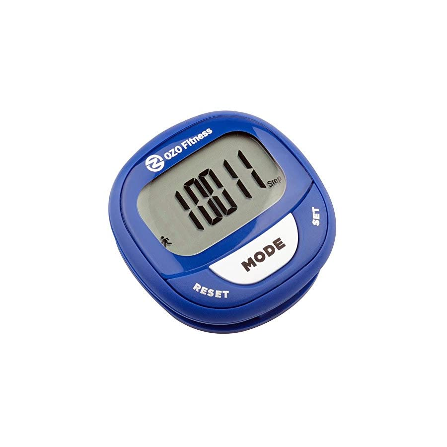 OZO Fitness SC2 Digital Pedometer | Best Pedometer for Walking | Accurately Track Steps and Miles, Calories Burned & Speed | A Step Tracker for Men & Women | Buy your Step Counter today!