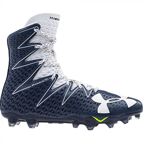 Under Armour UA Highlight MC Football Cleats 1269693 411 (Navy/White, 9.5 D(M) US)