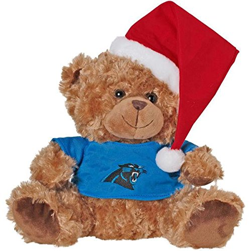 Panthers Santa Hat (Carolina Panthers Bear With Santa Hat)