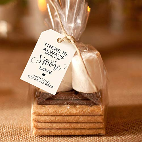 Wedding Favor Ideas For Summer - Bliss Collections S'More Love Favor Tags