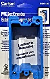 Carlon Electrical Box Extender PVC, Single Gang, 1-Pack
