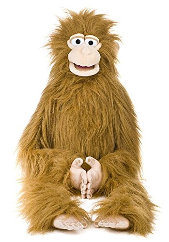 "38"" Silly Monkey, Wrap Around Waist, Ventriloquist Style Puppet"