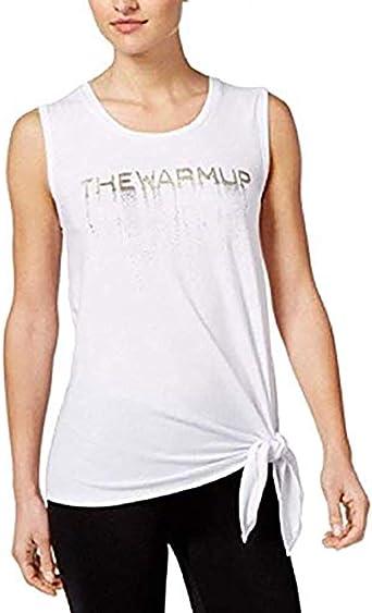 Jessica Simpson The Warm Up Juniors Tie-Hem Tank Top