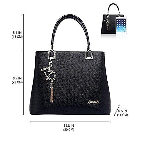 Shoulder Top zwart and Women's Zbxff Bags Handles zSaqn6x