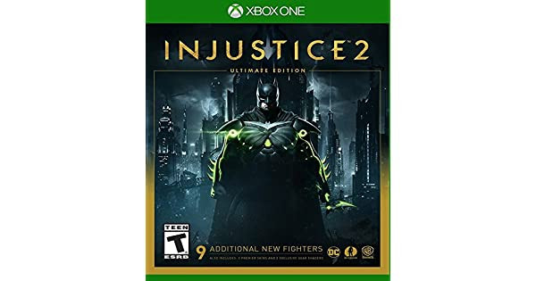 Amazon com: Injustice 2 Ultimate Edition - Xbox One: Video Games