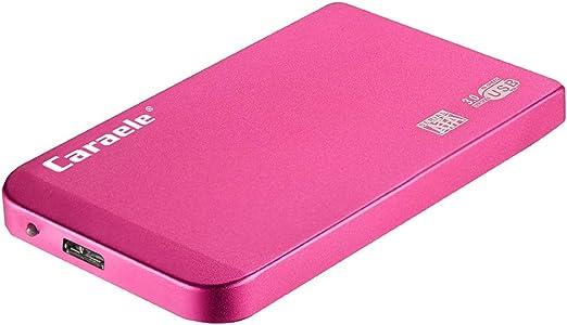 D DOLITY USB3.0 モバイルハードディスク 2.5インチ SATA HDD 外付け ポータブル 保護カバー - 2T