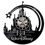Walt Disney Beautiful Vinyl Wall Clock Christmas