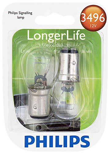 2 Pack 3496LLB2 Philips 3496 LongerLife Miniature Bulb