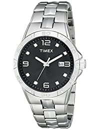 Timex Men's T2P2619J Crystal-Accented Stainless Steel Watch