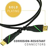 Mediabridge FLEX Series HDMI Cable (1 Foot) - High-Speed Supports 4K, Ethernet, 3D and Audio Return [Newest Standard] - (Part# MPC-HDMI34-1 )