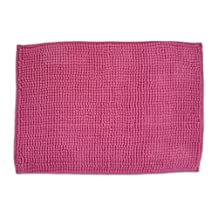 Bone Dry Ultra Absorbent Chenille Travel and Crate Liner Easures Pet Entry Mat, 17x24-Inch, Pink
