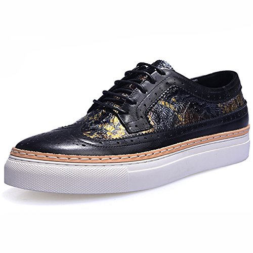 Casual Forme Marée Chaussures 44 Chaussures Brock Blackwhite GOLDGOD Plate Hommes Chaussures Chaussures Hommes Chaussures CtnqY