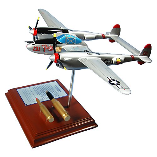 (Mastercraft Collection Planes and Weapons Series Lockheed P-38 Lightning Pudgy Model Scale:1/49)