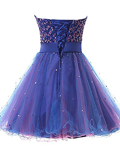 Homecoming Party Blue Gowns 101 Prom royal Women Short anmor Sequin Tulle s Dress 8xTUSwHqt