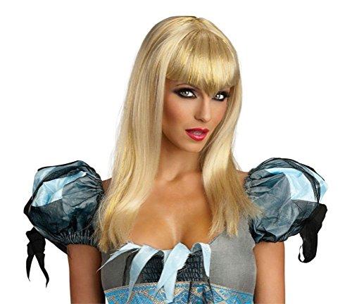 Rock Star And Diva Long Gloves (Sexy Blonde Glitter Vamp Wig Long Bangs Women Adult Costume Accessory Vampiress)