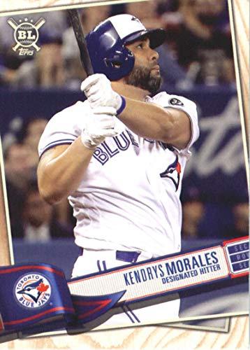 2019 Topps Big League #314 Kendrys Morales Toronto Blue Jays Baseball -