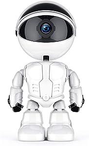 KuWFi Cloud Home Security IP Camera Robot Intelligent Auto Tracking Camera Wireless WiFi Baby Video Monitor Surveillance Camera 1080P