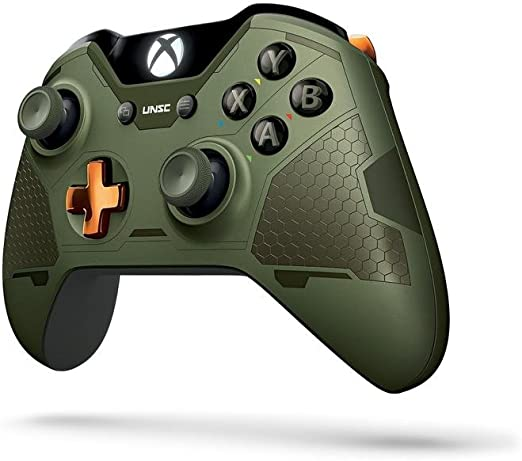 Microsoft - Mando Wireless - Edición Limitada, Halo 5, Jefe ...