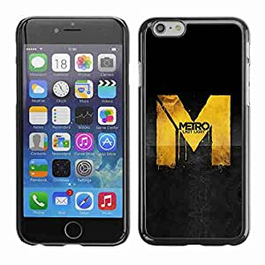 "Planetar® ( Metro Game ) Fundas Cover Cubre Hard Case Cover 5.5"" iPhone 6 Plus"