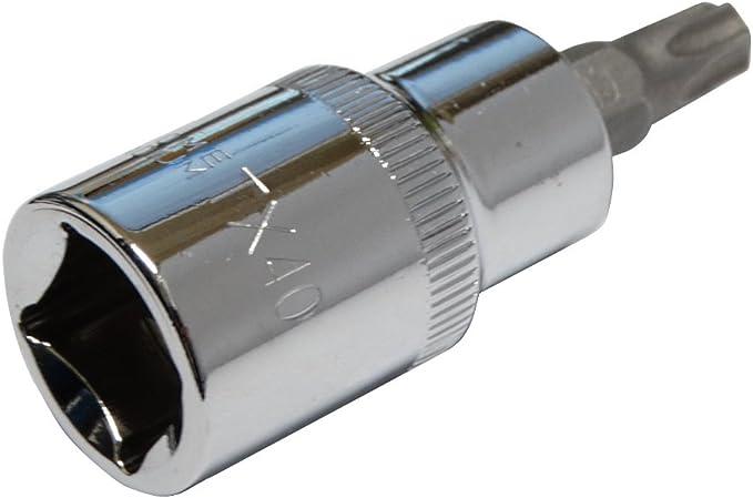 Douille de vissage /à choc Torx T40 noire en acier Cr-Mo haute qualit/é professionnelle pour outils pneumatiques Aerzetix