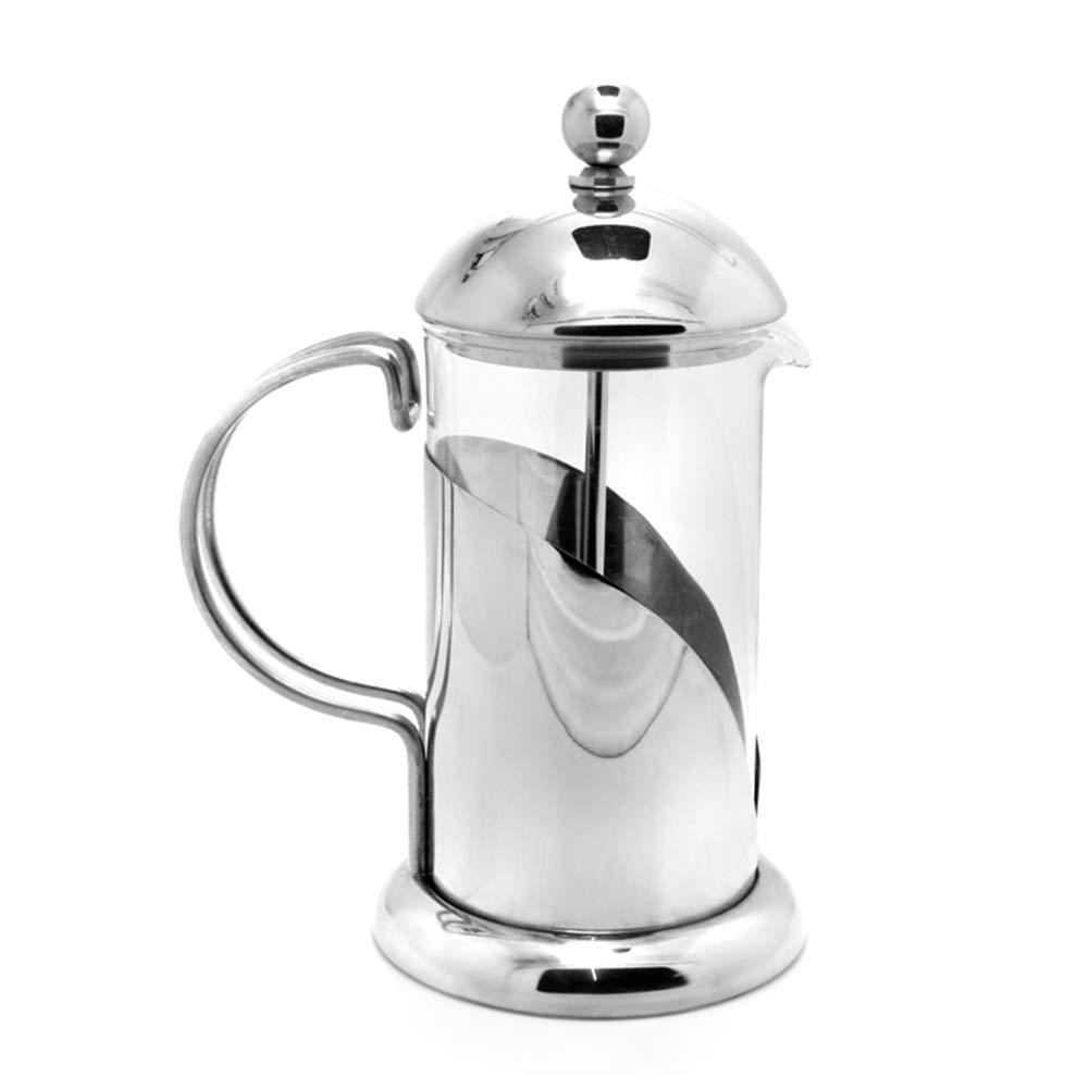 Caffettiera Caffettiere Caffettiera Espresso Caffettiera Express Macchina per caffè Verticale Vetro di Pressione del Filtro per La Casa in Acciaio Inossidabile GAOFENG Prezzi offerta
