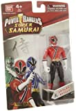 Power Ranger Samurai Red Ranger, Multi Color (4-inch Figure)