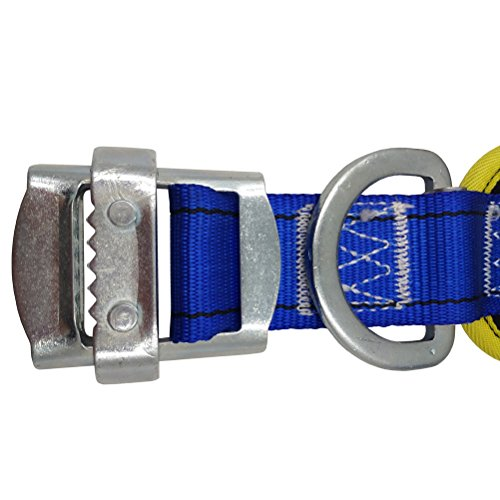 Aoneky Body Belt with Hip Pad and Side D-Ring, Fall Arrest Safety Harnesses by Aoneky (Image #1)