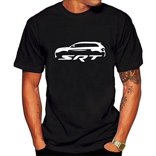 Black Jeep Cherokee SRT Men's Tee shirt