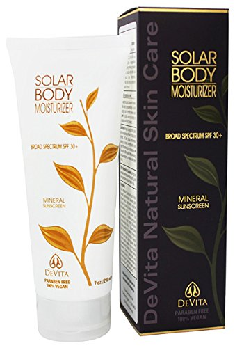Devita Natural Skin Care Solar Body Moisturizer Spf 30
