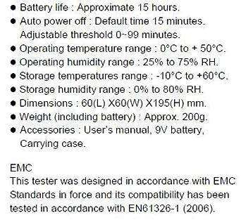 Amazon.com: HF-B3G Analizador y detector de medidor de HF/RF ...