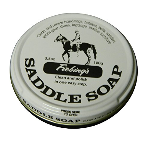 Fiebing's White Saddle Soap, 12 Oz. - Cleans, Softens and Preserves Leather ()