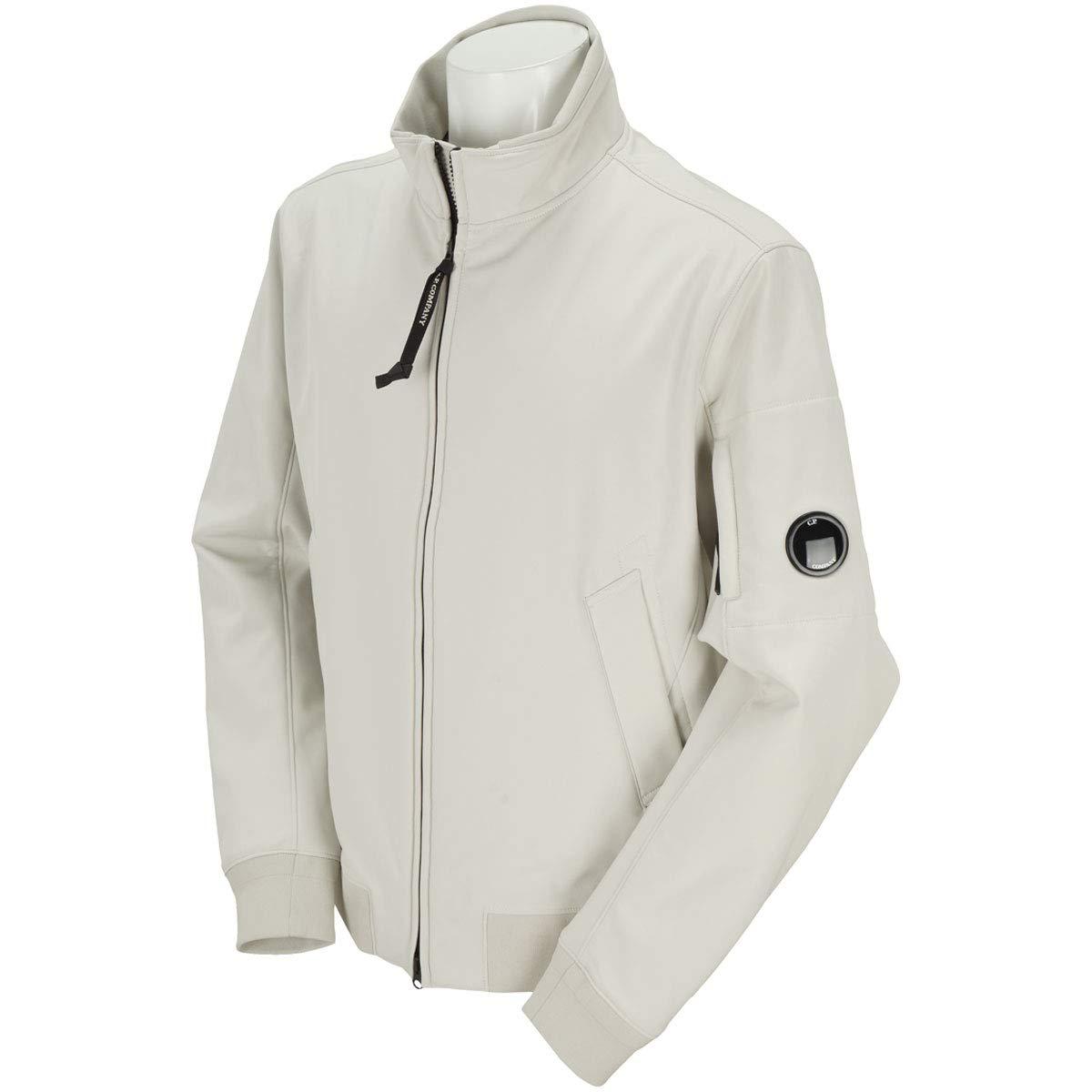 シーピーカンパニー C.P.COMPANY アウター(ブルゾン、ウインド、ジャケット) ジップアップスタンドネックブルゾン 52 ホワイト B07HWMQRDF