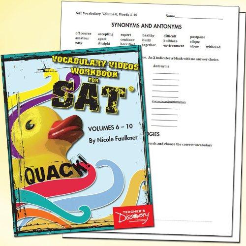 Amazon.com : Quack! SAT Vocab Workbook, Volumes 6-10 : Office Products