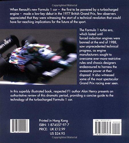 Formula 1: The Turbo Era (Autocourse Technical Series): Alan Henry: 9781874557975: Amazon.com: Books